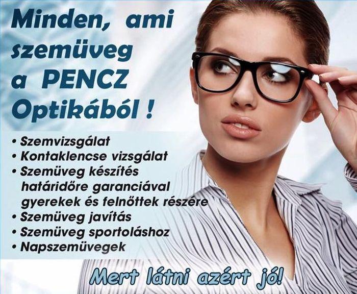Pencz Optika Kecskemét - minden, ami szemüveg