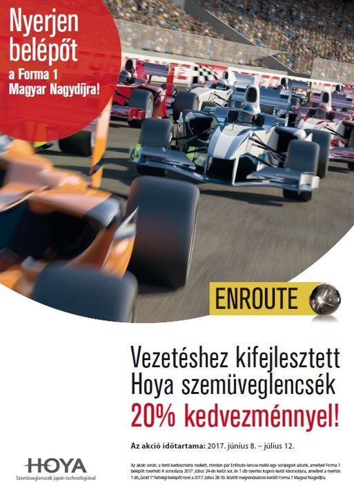 EnRoute bevezető akció
